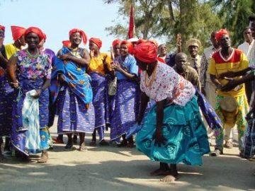 Danças Africanas - Cabo Verde