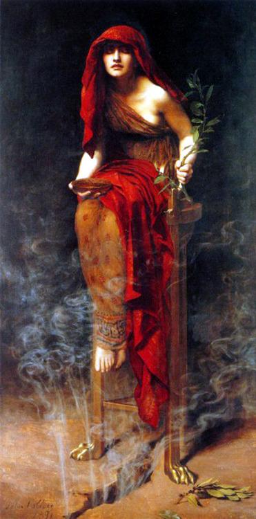 Priestess of Delphi - John Collier (1891)